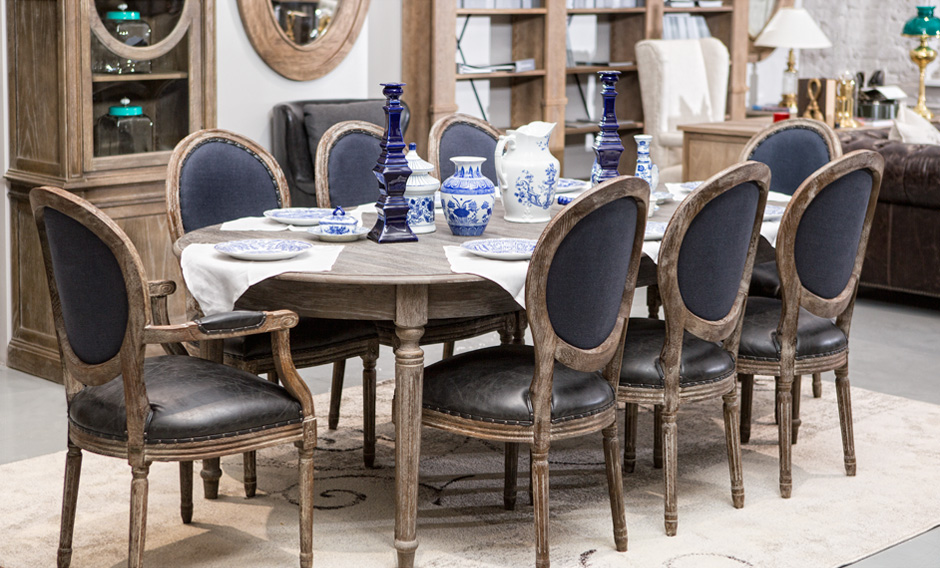DINING ROOM COLLECTION INDIGO