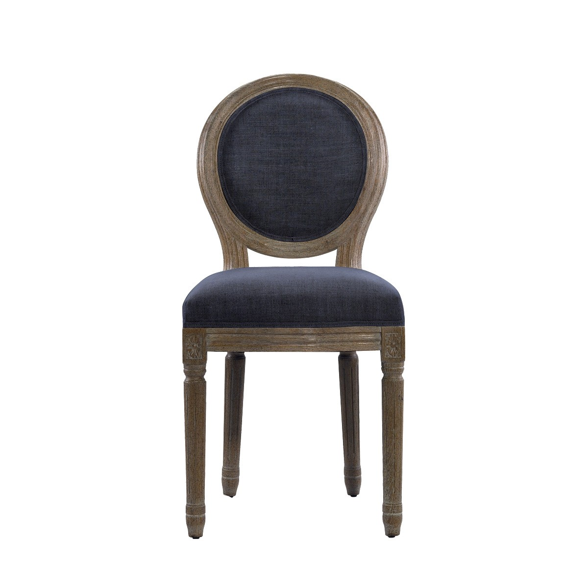 French mini linen chair