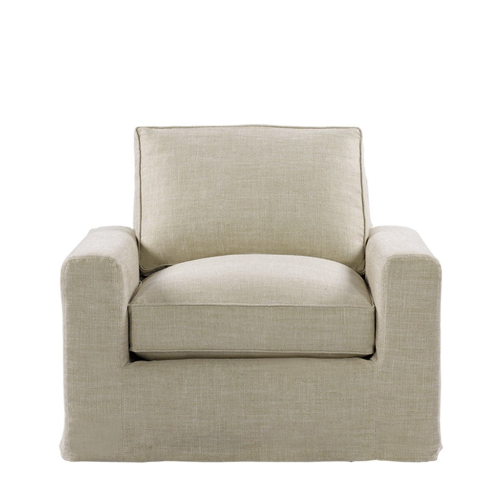 Кресло MONS UPHOLSTERED ARMCHAIR