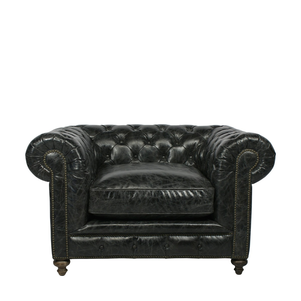 Элитное кресло CIGAR CLUB LEATHER ARMCHAIR