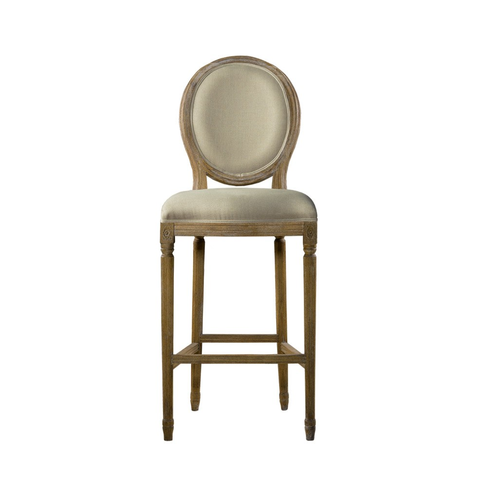 Стул VINTAGE LOUIS BACK COUNTER STOOL