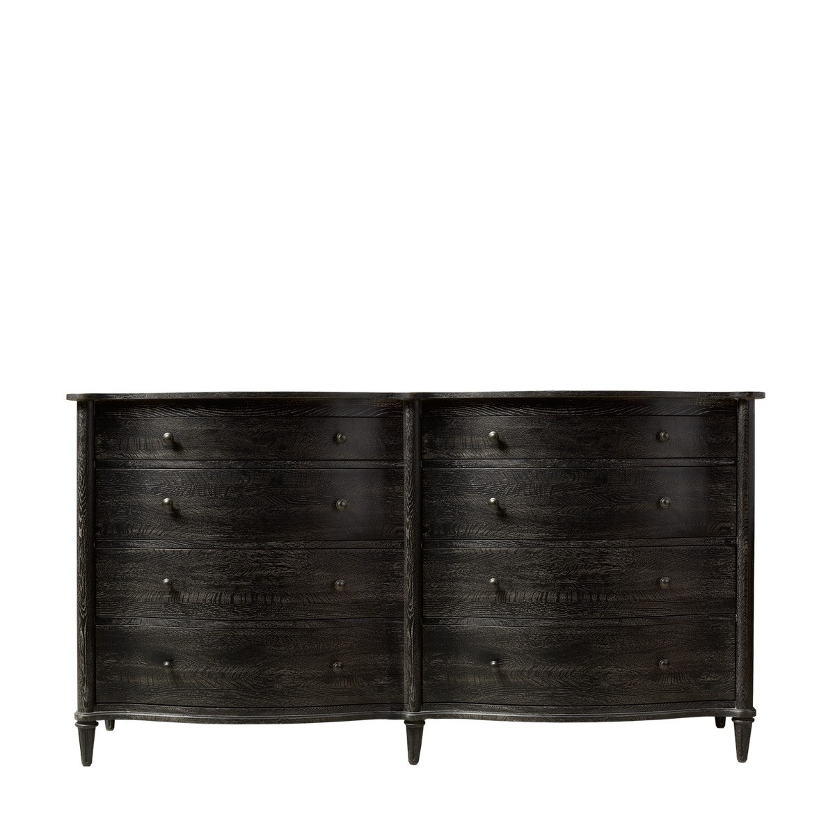 Комод BAXLEY DOUBLE ANTIQUE BLACK DRESSER