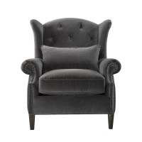 Lauran Velvet Arm Chair