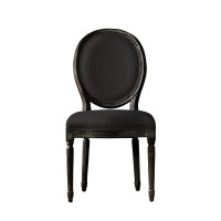Стул VINTAGE LOUIS ANTIQUE BLACK SIDE CHAIR
