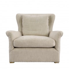 Кресло WINSLOW LOUNGE CHAIR BEIGE LINEN