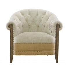 Стильное кресло Deconstructed Chambery Back Armchair