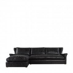 Дорогой диван WINSLOW LEATHER & WOOL SECTIONAL