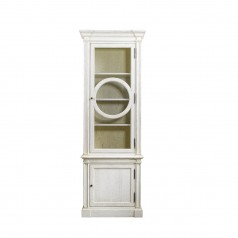 Шкаф French O-Style Vintage White Cabinet