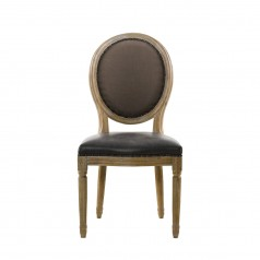 Стул VINTAGE LOUIS GLOVE ROUND SIDE CHAIR