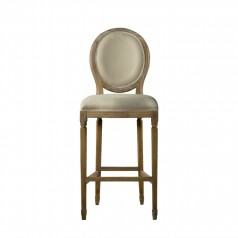Стул VINTAGE LOUIS BACK HIGH BAR STOOL