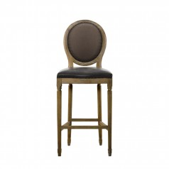 Стул VINTAGE LOUIS GLOVE BACK COUNTER STOOL