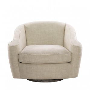Кресло Bell Linen Swivel Arm Chair