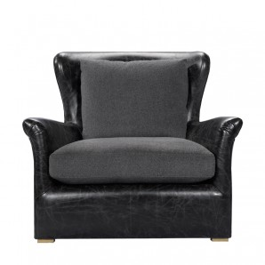 Кресло WINSLOW LEATHER LOUNGE CHAIR