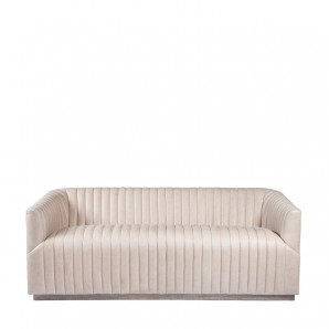 Диван SETE STRIP GRANITE LEATHER SOFA