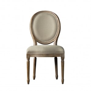 Винтажный стул VINTAGE LOUIS ROUND SIDE CHAIR