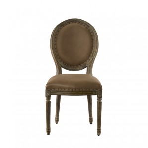 Стул Vintage Louis Round Chair