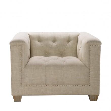 Кресло Bergamo  Linen Arm Chair