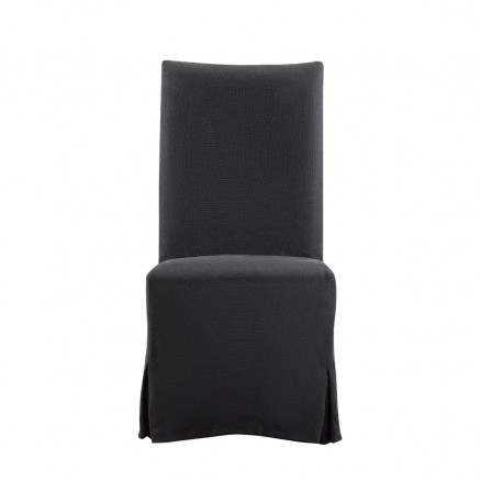 Стул Flandia Black Slip Covered Chair