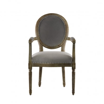 Стул Vintage Louis Round Arm Chair