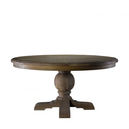 "Стол 60"" ROUND TRESTLE TABLE"