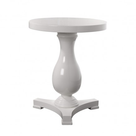 Стол Chambery White Side Table