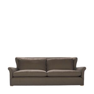 Диван WINSLOW SOFA BROWN LINEN-0