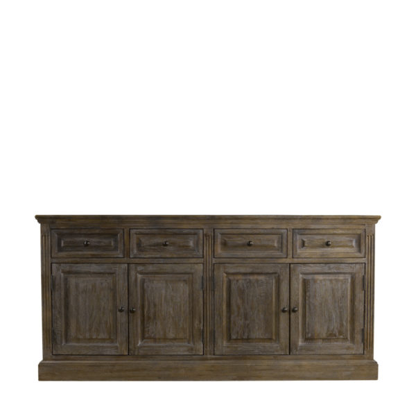 Низкий буфет OAK WOOD SIDEBOARD-0
