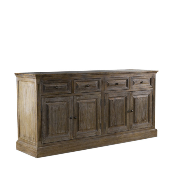 Низкий буфет OAK WOOD SIDEBOARD-1507