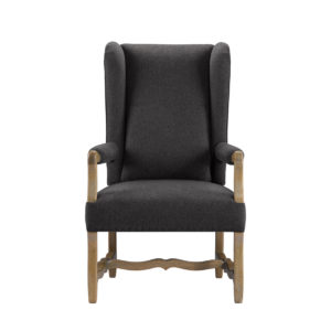 Стул BELGIUM WING WOOL ARM CHAIR-0