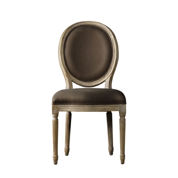 Стул VINTAGE LOUIS ROUND SIDE CHAIR-0