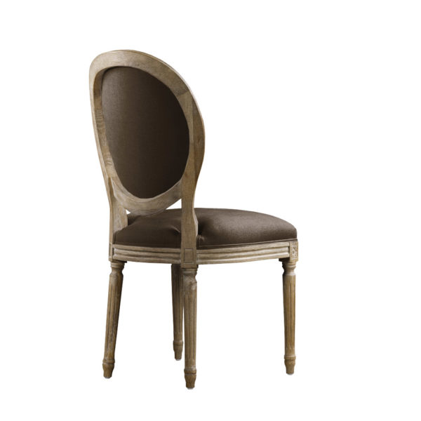 Стул VINTAGE LOUIS ROUND SIDE CHAIR-115