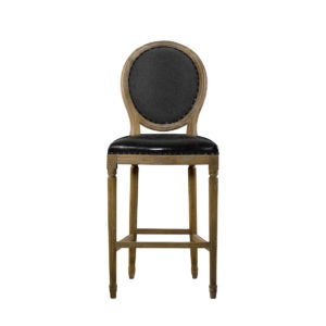 Стул VINTAGE LOUIS SLATE BACK HIGH BAR STOOL-0