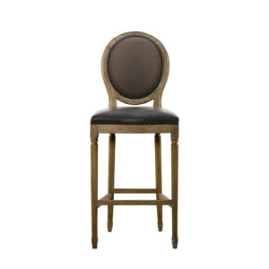 Стул VINTAGE LOUIS GLOVE BACK HIGH BAR STOOL-0