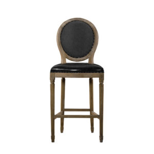 Стул VINTAGE LOUIS SLATE BACK COUNTER STOOL-0