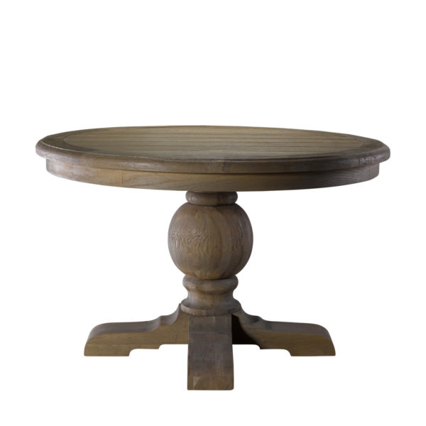 "Стол 48"" ROUND TRESTLE TABLE-0"