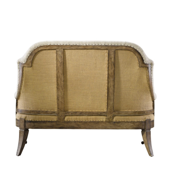 Диван-скамья DECONSTRUCTED BELFORT BACK SOFA-1906