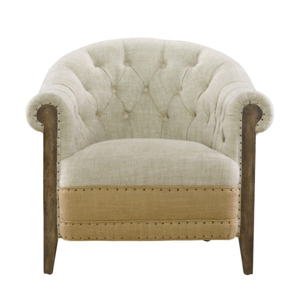 Стильное кресло Deconstructed Chambery Back Armchair-0