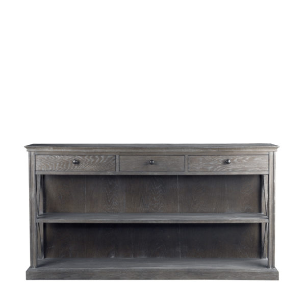 Консоль French Casement Console Grey-0