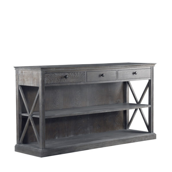 Консоль French Casement Console Grey-1996