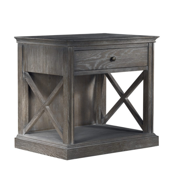 Стол French Casement Accent Table Grey-1994