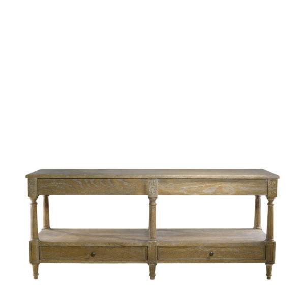 Консоль English Large Console Table-0