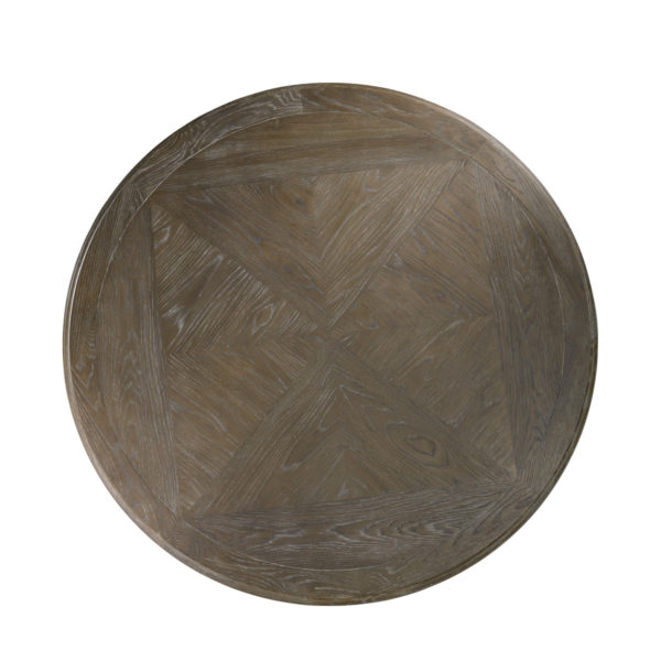 """Стол 63"""" FRENCH ROUND GREY TABLE-1684"""