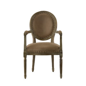 Стул Vintage Louis Round Arm Chair-0