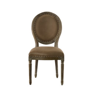 Стул Vintage Louis Round Chair-0