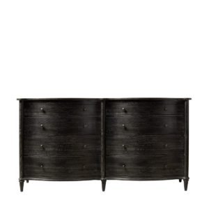 Комод BAXLEY DOUBLE ANTIQUE BLACK DRESSER-0