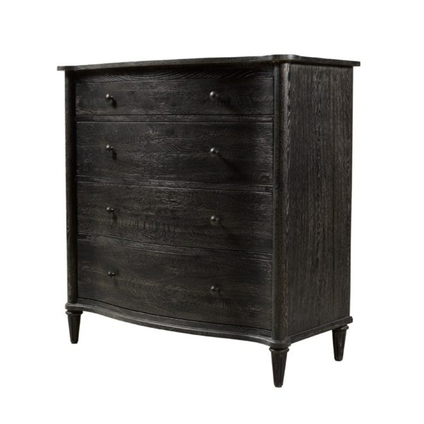 Комод BAXLEY CHEST ANTIQUE BLACK OF DRAWERS-2134