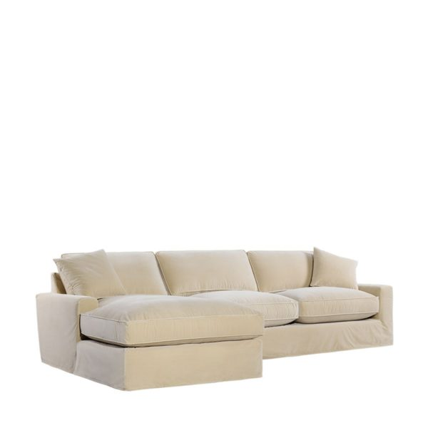 Классический диван Mons Upholstered LAF Sectional - LAF Chaise-2184