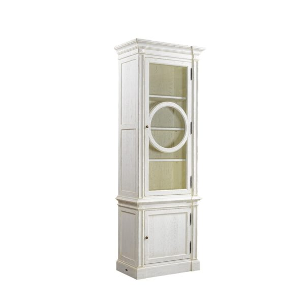 Шкаф French O-Style Vintage White Cabinet-2311