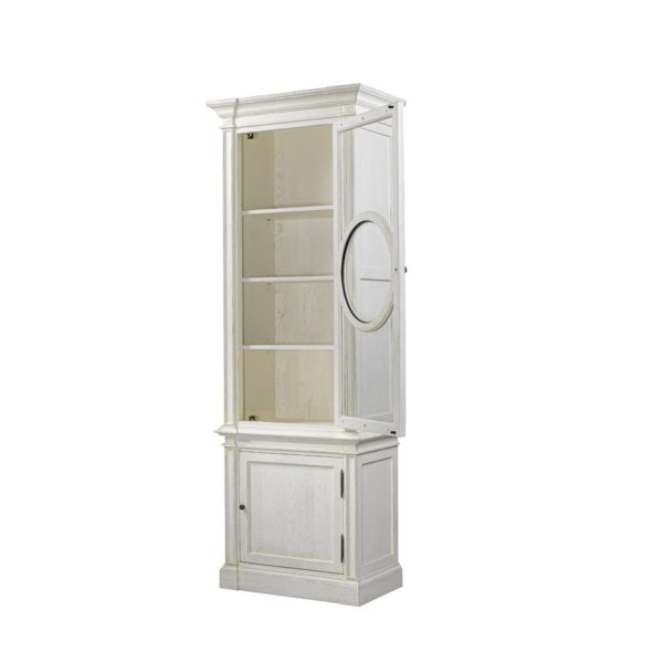 Шкаф French O-Style Vintage White Cabinet-2313