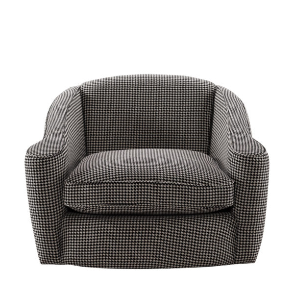 Кресло Bell Swivel Arm Chair-2566
